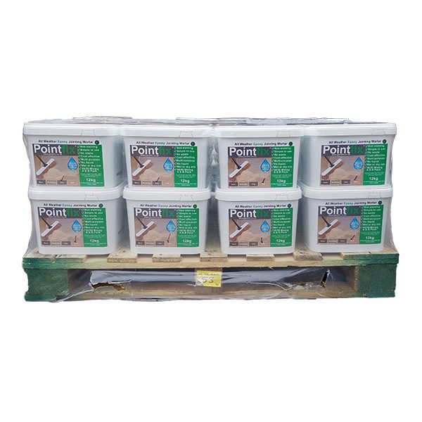 Product photo of half pallet Pointfix 12kg buckets
