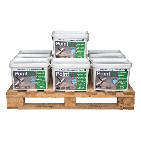 Product photo of 10 tubs of 20 kg Pointfix